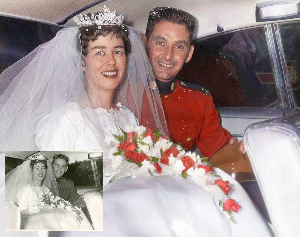 Wedding Colourization