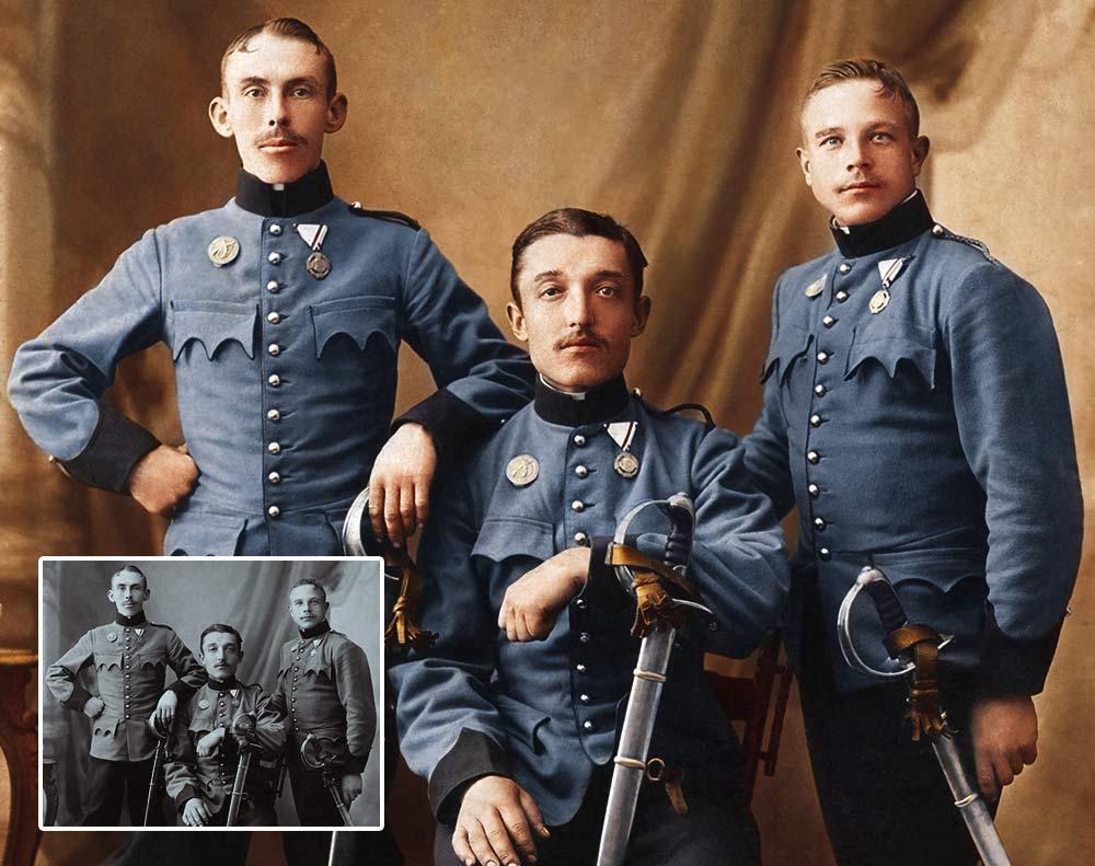 Austrian Cavalry 1875